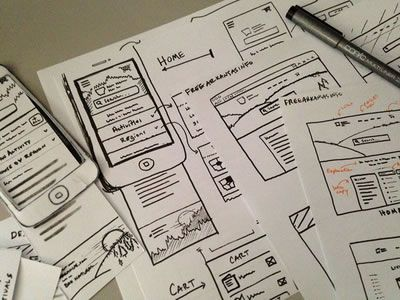 #UI & #Wireframe Sketches to Keep You Inspired