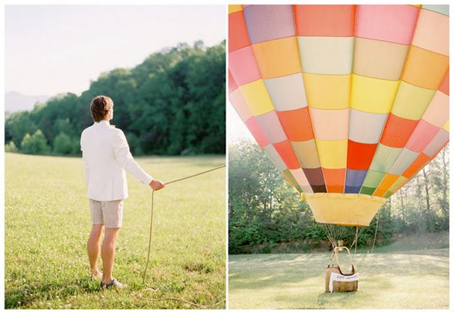 49 best images about hot air balloon wedding theme on