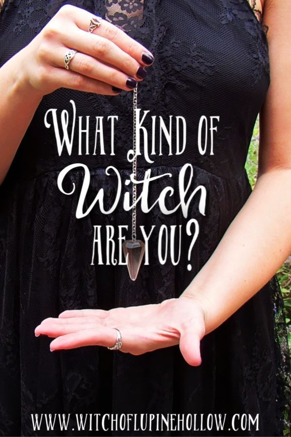 There Are Many Different Types Of Witches But Which One Are You