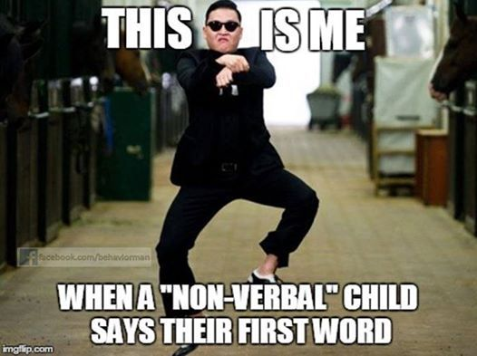 """Anyone else ever experience this feeling?  If a child is deemed """"non-verbal"""" that does not mean that the child will never be able to communicate! #ABA is not only an applied science that reduces problem behaviors. We view speech, language, and communication as behavior, and use scientific principles to help increase these skills."""