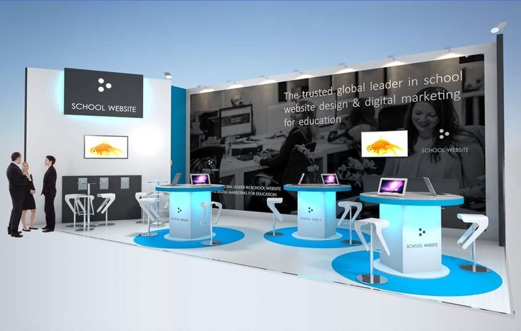 10m x 4m exhibition stand design