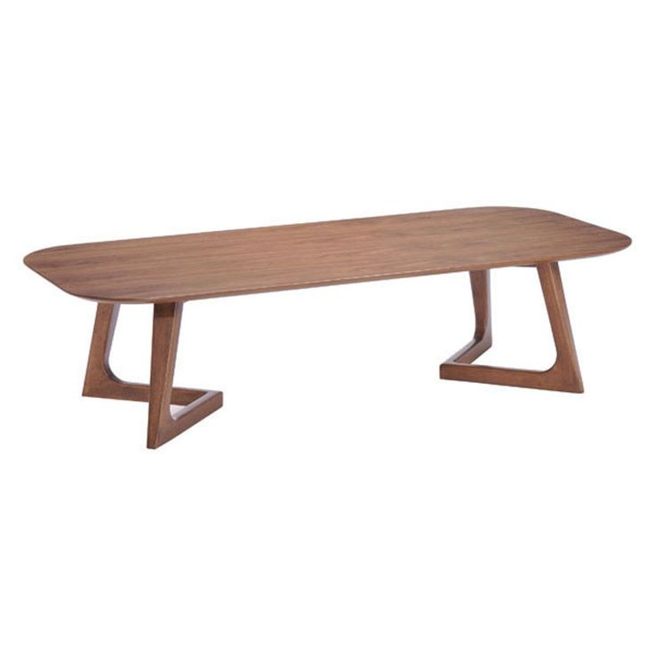 Zuo Modern Park West Coffee Table Walnut - 100097