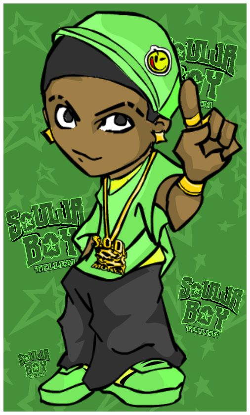 Soulja Boy Cartoon Graphics Code