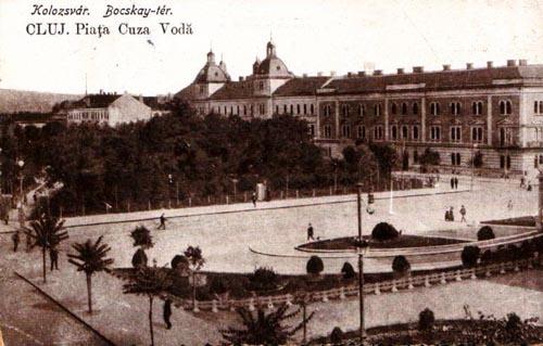 Cluj - Piata Cuza Voda - 1917