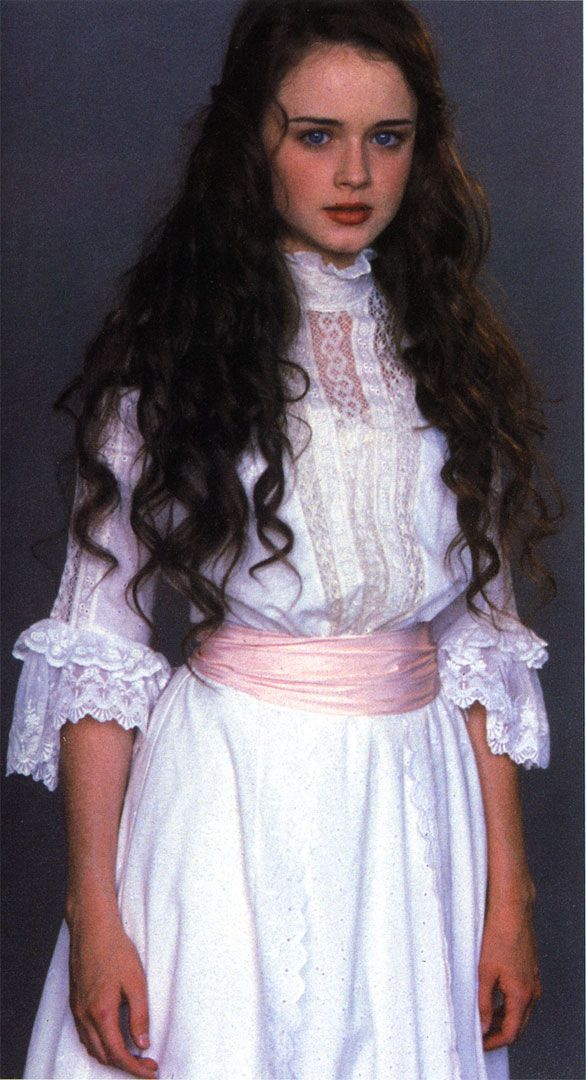 Alexa Bladel as Winnie Foster from the film Tuck Everlasting. (love the dress)