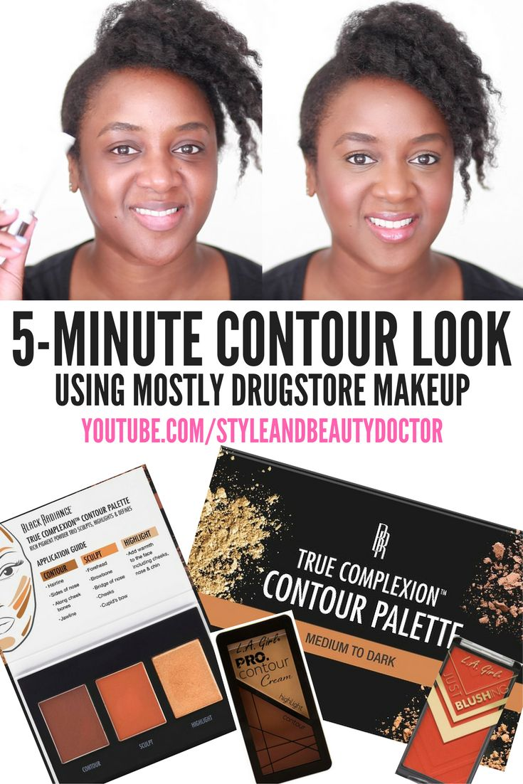 51 best contouring images on pinterest contouring dark skin and get a sculpted contour makeup look in about five minutes dark skin ccuart Gallery