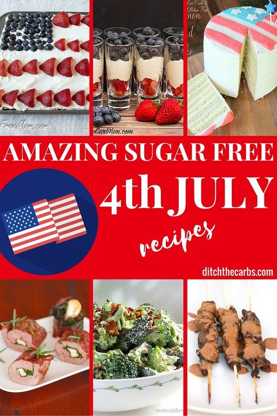 low fat 4th of july dessert recipes