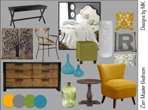 Color Boards | Designs by MKDesigns by MK, Master Bedroom, rustic