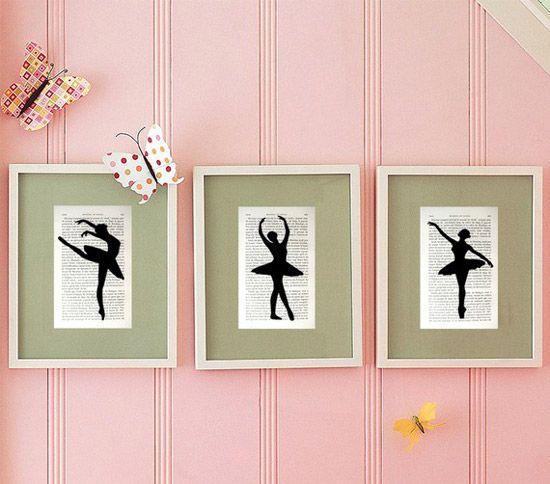 M s de 25 ideas fant sticas sobre dormitorio ballet en - Cuadros bailarinas infantiles ...