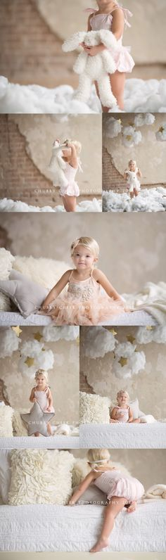 Image result for white bed kids photoshoot