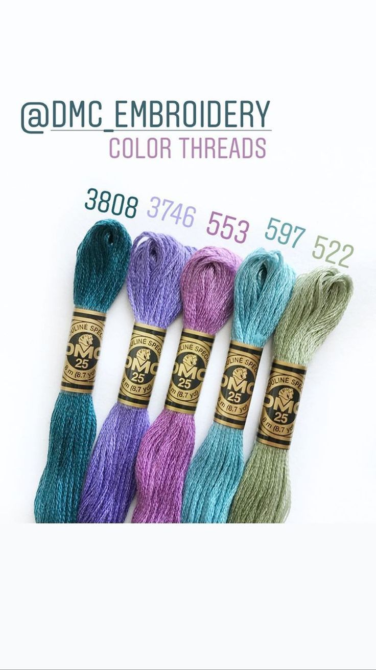 Dmc Embroidery Thread Color Pair Embroidery Floss Bracelets