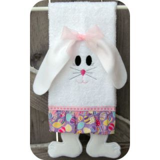 Towel Leg Designs :: Bunny Legs Towel   Embroidery Garden | Unique In The  Hoop Part 97