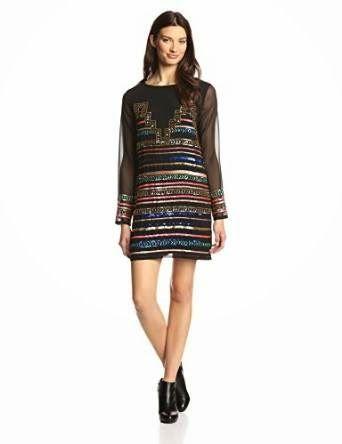 sequin shift dress: Sequin Shift Dress