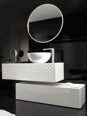 Noken en @porcelanosa Premium Collection. Descubre la exclusiva selección de @ramonesteve #baños #diseñodebaños #interiorismo #equipamientodebaños