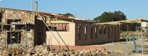 Margaret River Rammed Earth Style