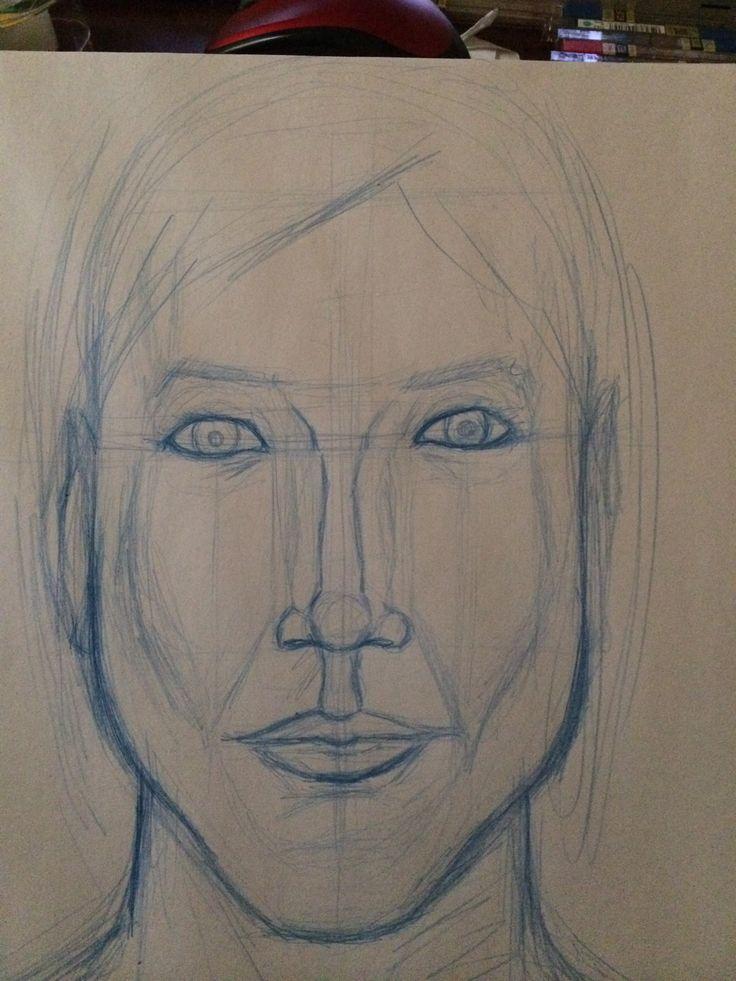 Melissa Sarah wee head shot sketch