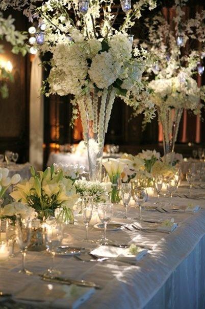 center piece idea for extravagant wedding
