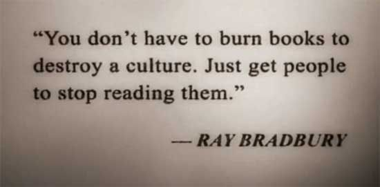 Fahrenheit 451 Quotes About Burning Books With Page Numbers: Significant Quotes In Fahrenheit 451. QuotesGram