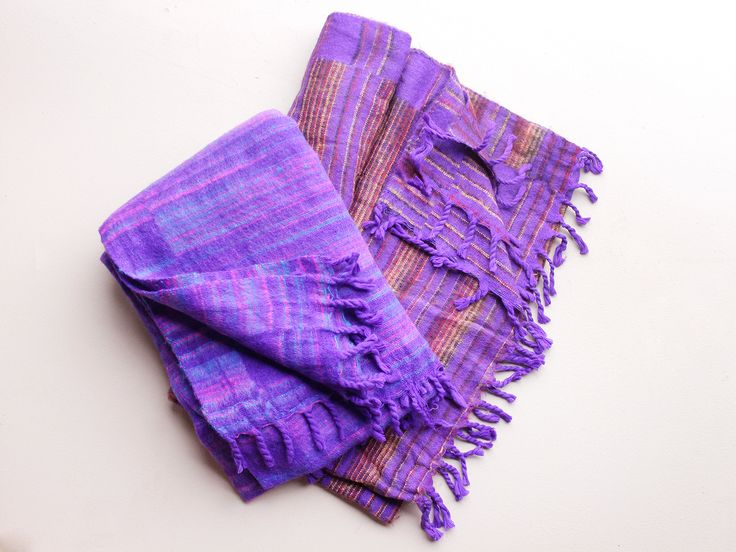 Woolly Blankets Purple only £19.50