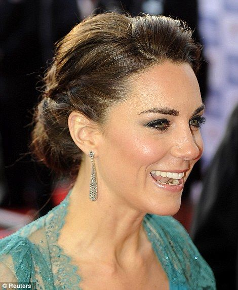 pure beauty.: Hair Ideas, Duchess Of Cambridge, The Duchess, Wedding Hair, Teal Dresses, Hair Makeup, Kate Middleton, Hair Style, Princesses Kate