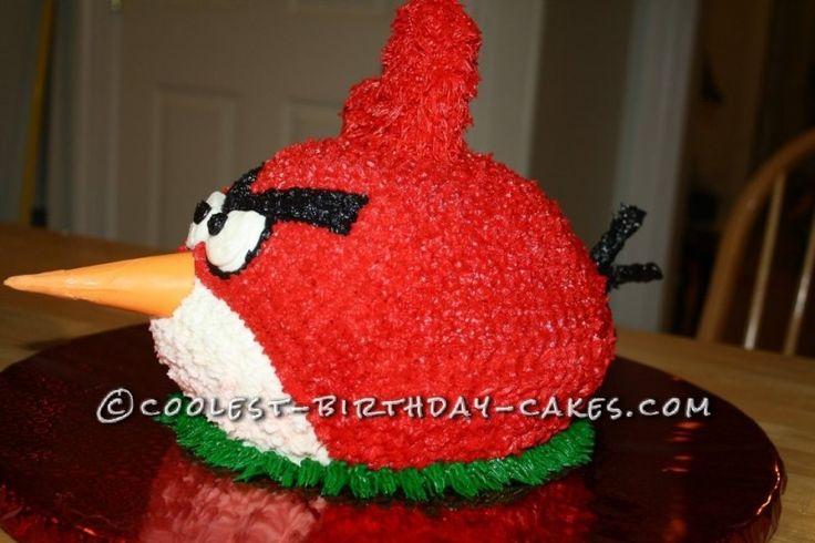 Best 25 Red Birthday Cakes Ideas On Pinterest Balloon