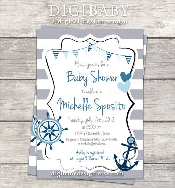 anchor baby showers ideas on pinterest nautical theme baby shower