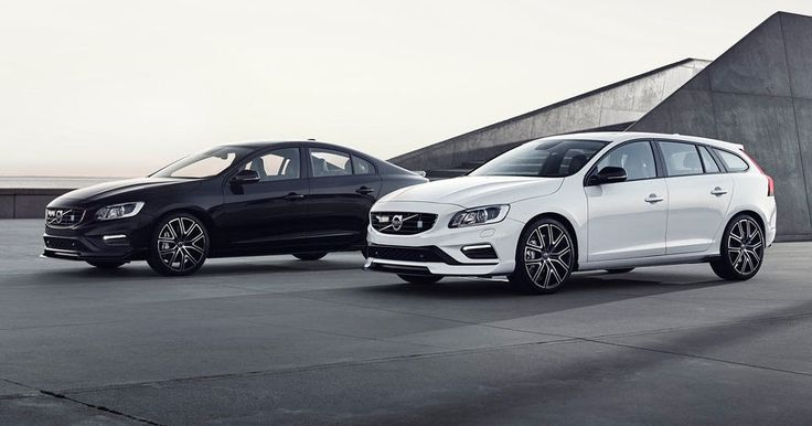 2018 Volvo S60 And V60 Polestar Come In A Limited Number With Carbon Fiber Aerodynamic Enhancements #New_Cars #Polestar
