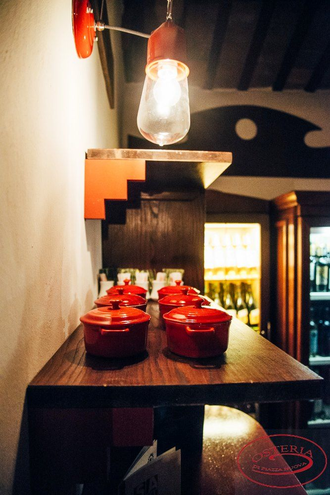 Here's Novecento lighting up the restaurant Osteria Nuova #Toscot #MadebyPeople #interiors #interiodesign #interiordesigners #decor #interiordecor
