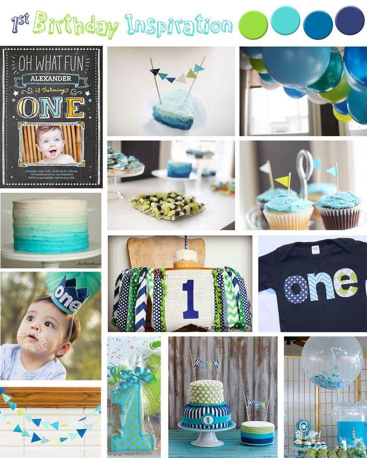 25+ Best Ideas About Boy First Birthday On Pinterest