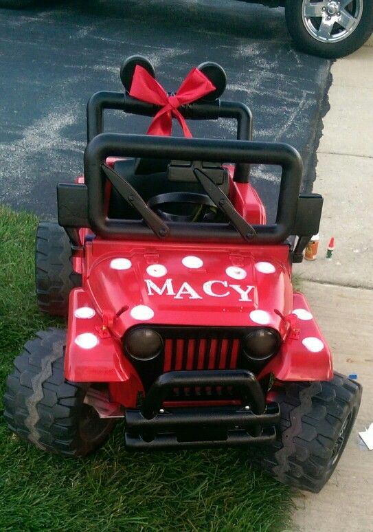 #diy barbie jeep makeover