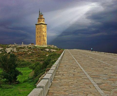 Torre de Hercules,La Coruña,Galicia,Spain.