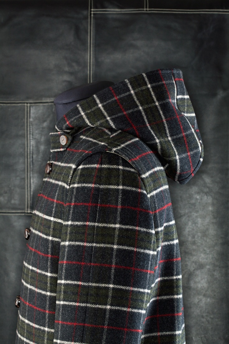 Loden jacket: style UG4 Double check in contrasting color, lined