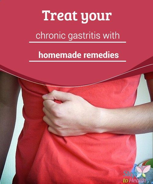 Treat your chronic gastritis with homemade remedies Treat your #chronic #gastritis at home with these homespun remedies - find natural home #treatments for symptoms of gastritis here! #Naturalremedies