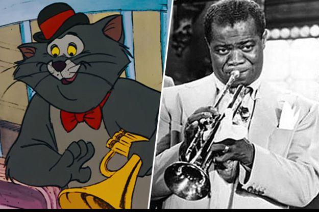 Personajes que creías ficticios y realmente vivieron - Gato Jazz - Louis Armstrong