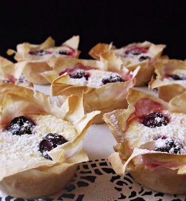 Citromhab: Túrósrétes muffin