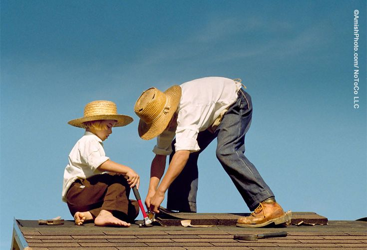 """""""The Apprentice"""" A helping hand is a nice thing to have when chores need doing. [Photo by Bill Coleman 1925-2014]"""