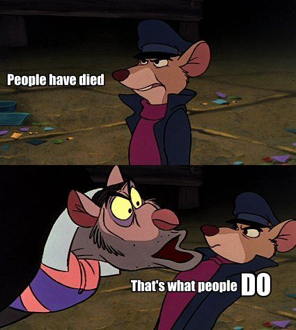 This was my first ever introduction to Sherlock Holmes as a child. The Great Mouse Detective   Basil + BBC