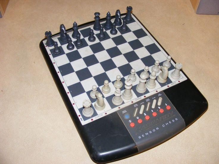 Saitek #kasparov sensor #chess #computer game, saitek 165h sensor #chess, incomple,  View more on the LINK: http://www.zeppy.io/product/gb/2/381941408169/