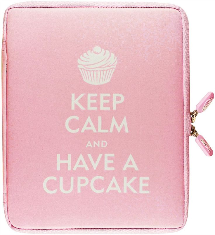 KEEP CALM AND HAVE A CUPCAKE - IPAD 2 COVER  by Everyday is a Holiday