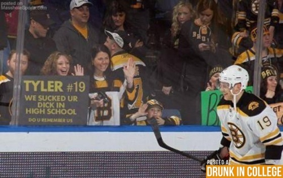 Is he smiling because he knows it us true? | #funny #signs #sports