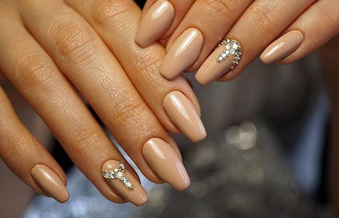 Nagelformen oval Acryl #nailshapesballerina – Easy Summer Nail Shapes DIY