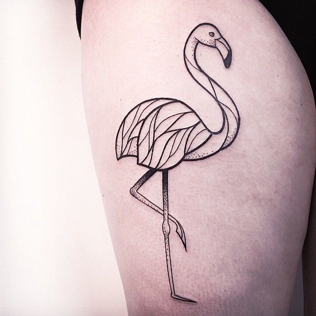 FLAMINGO FROM LAST WEEK.  IF YOU WANT TO GET INKED, CONTACT ME VIA THE SHOP VADERS.DYE [ L I N K  I N  P R O F I L E ]  FOLLOW MY STUDIO ✖️@vadersdye✖️