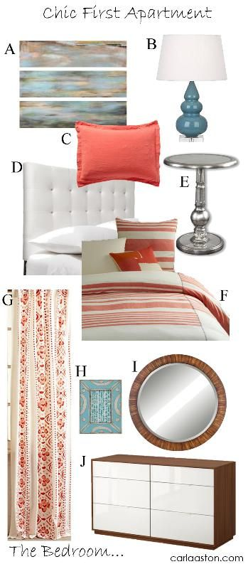 10 stylish, cost effective items for your first apartment's bedroom