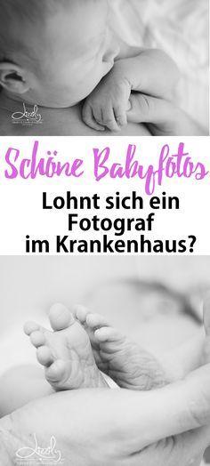 Babyfotos im Krankenhaus: Lohnt sich ein Kinder-Fotograf für Bilder an den ersten Tagen nach der Geburt im Krankenhaus? Tipps auf Mama Blog www.ineedsunshine.de