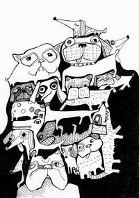 Dog print - Sofie Børsting