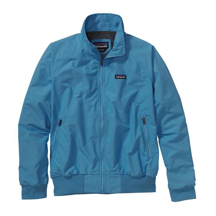 Con il suo design intramontabile, la Patagonia Men's Baggies™ Jacket è una versatile giacca in stile bomber, perfetta per andare in bici al lavoro o per un'escursione nel fresco del mattino.
