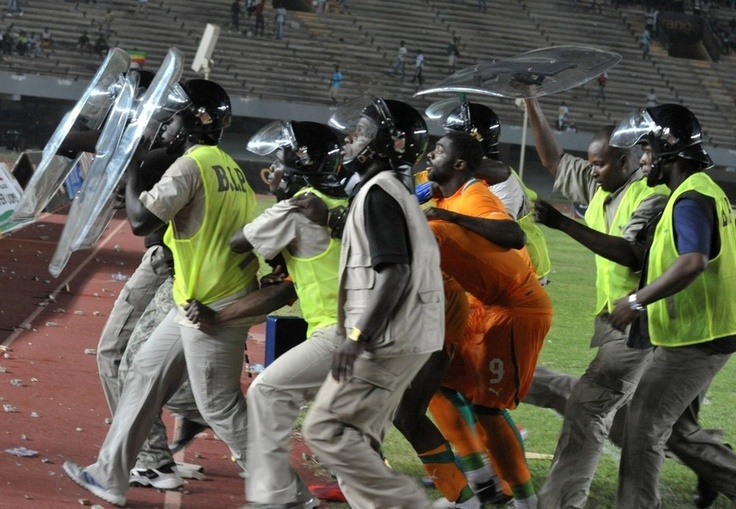 A Crucial International Soccer Match Sparked A Massive Riot In Africa