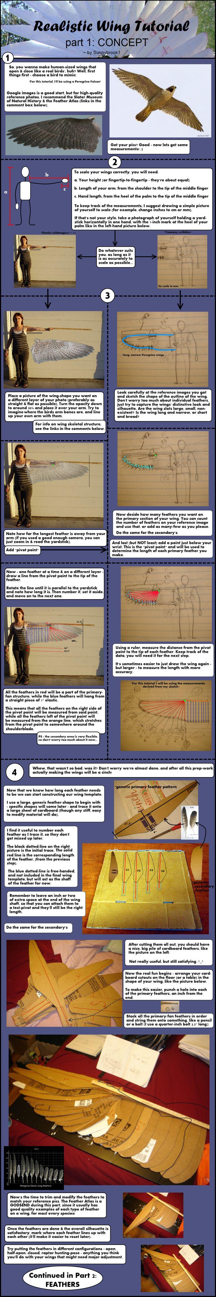 Realistic Wing Tutorial - P.1 by Sunnybrook1.deviantart.com on @deviantART