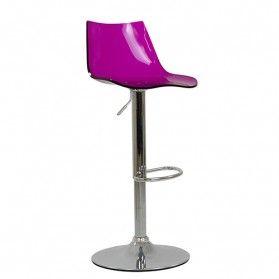 amazon purple bar stool