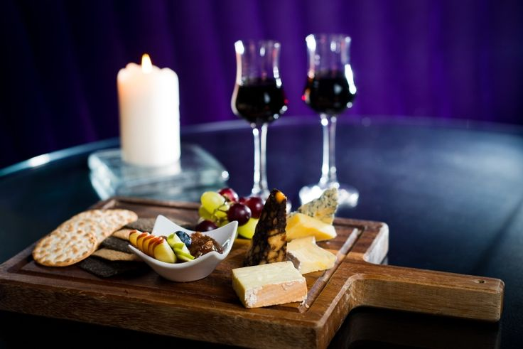 Irish selection of cheese for two at Restaurant gigi's. www.theghotel.ie